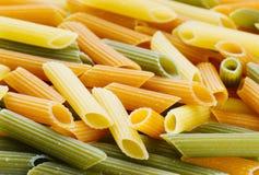 Dry pasta Stock Photos