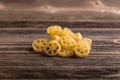 Dry pasta ruote Royalty Free Stock Photo
