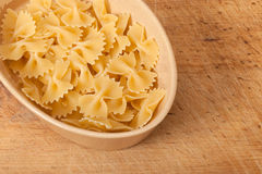 Dry pasta Stock Images