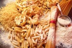 Dry pasta Stock Image