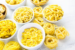Dry pasta Royalty Free Stock Images