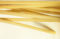 Dry pasta ziti stock photography