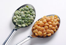 Dry peas Royalty Free Stock Photography