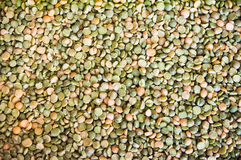 Dry peas Stock Photo