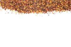 Dry pepper frame Royalty Free Stock Photography