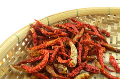 Dry pepper. Red chili pepper dry are prepared to cook Stock Photo