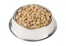 Dry pet food Royalty Free Stock Images