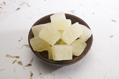 Dry Petha, Indian Sweet Stock Images