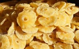 Dry pineapple Stock Image