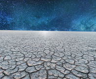a dry planet Royalty Free Stock Image