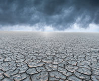 A dry planet Stock Images