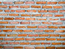Dry plaster red brick wall Background of brick wall texture Royalty Free Stock Photography