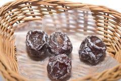 Dry plum Stock Photos