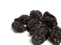 Dry plum or prune fruit Royalty Free Stock Image