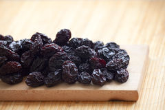 Dry plums Royalty Free Stock Images