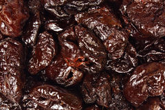 Dry plums or prunes fruit Stock Image