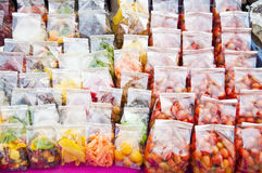 Dry preserved fruits. Stock Image