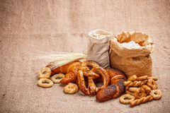 Dry pretzel Stock Photo