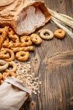 Dry pretzel Stock Photos