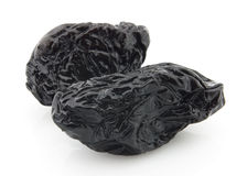 Dry prunes Royalty Free Stock Photo