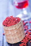 Dry red berries Stock Image