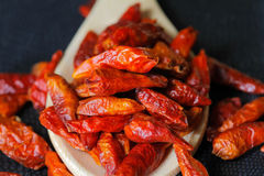 Free Dry Red Chili Peppers Stock Image - 28000631