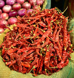 Dry Red Chilly Stock Photography