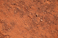 Dry red clay Stock Images