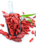 Dry red goji berries Royalty Free Stock Images