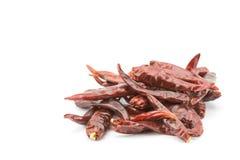 Dry Red hot chili Stock Photo