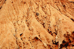 Dry Red Soil Stock Images