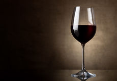 Dry red wine Stock Image