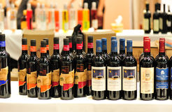 Dry red wines Stock Photos