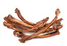 Dry rib. Dog food, dry rib isolated on white Royalty Free Stock Image