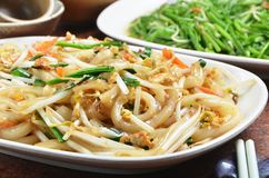 Dry rice noodles royalty free stock image