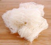 Dry rice vermicelli Stock Image