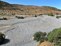 Dry river Royalty Free Stock Image