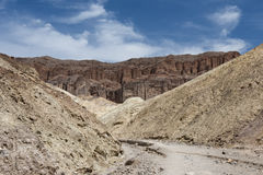 Dry river bed  Royalty Free Stock Photo
