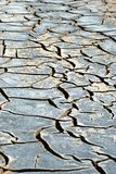 Dry river bed Stock Photo