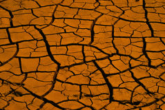 Dry river bed Royalty Free Stock Photos