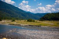 Dry river Stock Photo