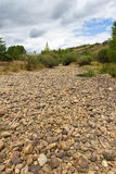 Dry  Riverbed Royalty Free Stock Photos