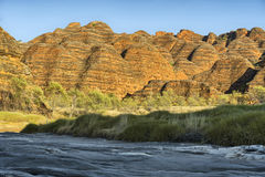 Dry riverbed of Piccaninny Creek, Bungle Bungles National Park Royalty Free Stock Image