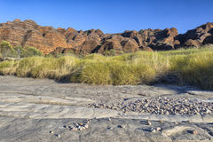 Dry riverbed of Piccaninny Creek, Bungle Bungles National Park Stock Photos
