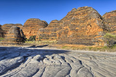Dry riverbed of Piccaninny Creek, Bungle Bungles National Park Royalty Free Stock Photo