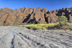 Dry riverbed of Piccaninny Creek, Bungle Bungles National Park Stock Photography