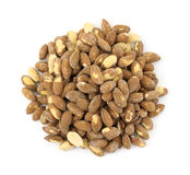 Dry roasted almonds Stock Image