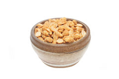 Dry roasted peanuts Stock Photography
