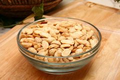 Dry Roasted Peanuts Unsalted Stock Images