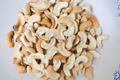 Dry Roasted Salted Cashews Nut Stock Images